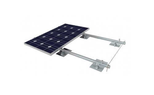 Roof Mount with pitched and flat roof solar racking solutions