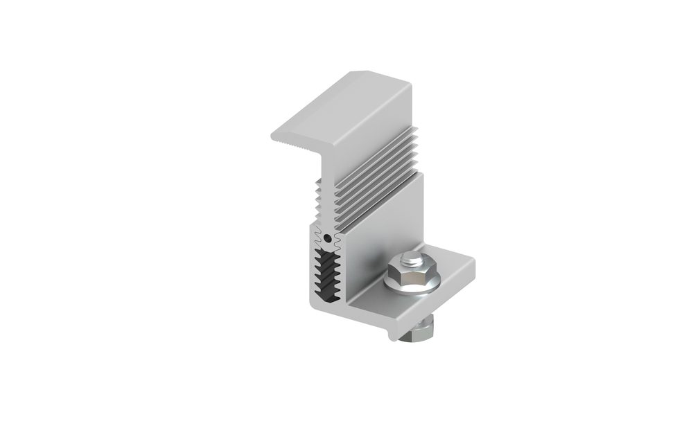 Adjustable End Clamp Kit 33 50mm Amray Solar